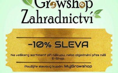 -10% SLEVA na veškerý sortiment