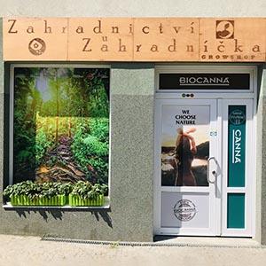 Growshop Zahradnictví Olomouc - prodejna